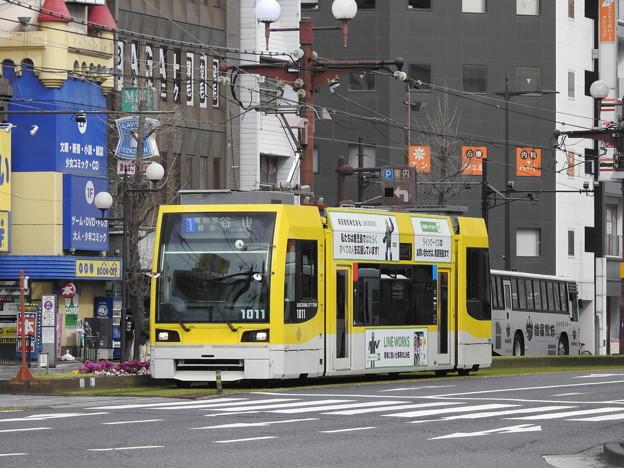 【鹿児島市電】1000形 1011号車