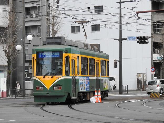 【鹿児島市電】2140形 2143号車