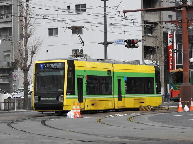 【鹿児島市電】7500形 7504号車