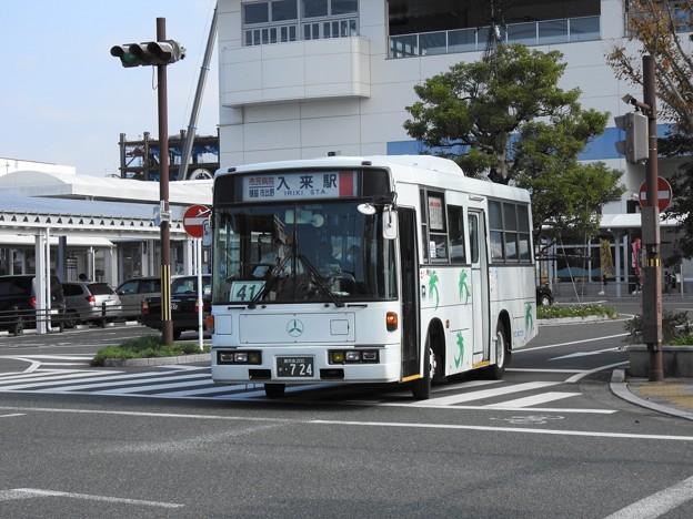 724号車(元西武バス)