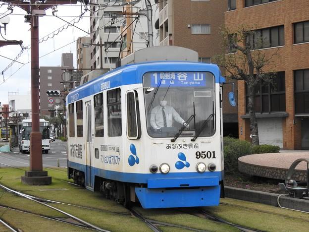 【鹿児島市電】9500形 9501号車