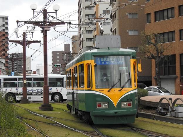 【鹿児島市電】2110形 2112号車