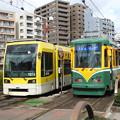【鹿児島市電】1000形 1019号車&2110形 2112号車