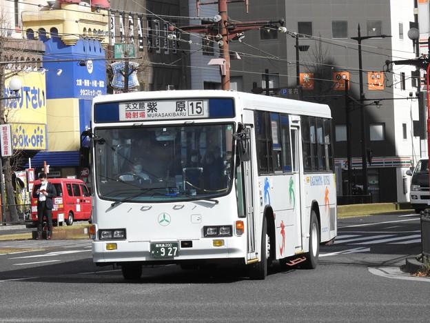 927号車(元国際興業バス)