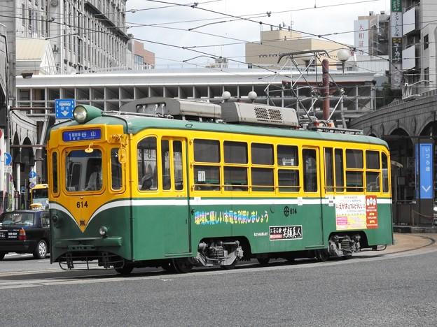 【鹿児島市電】600形 614号車