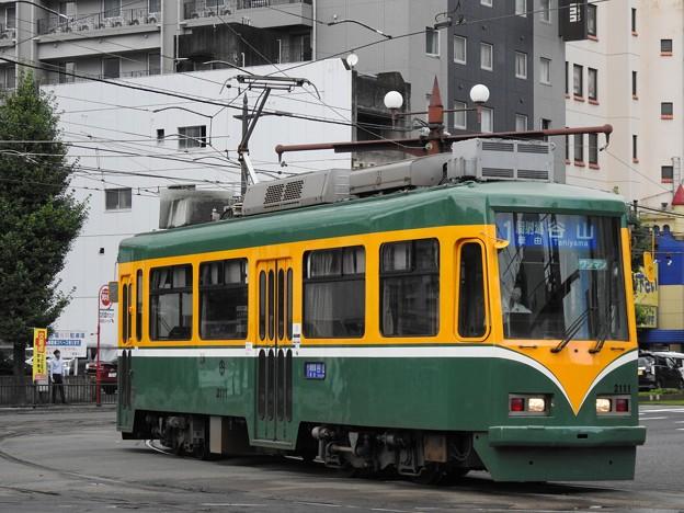 【鹿児島市電】2110形 2111号車