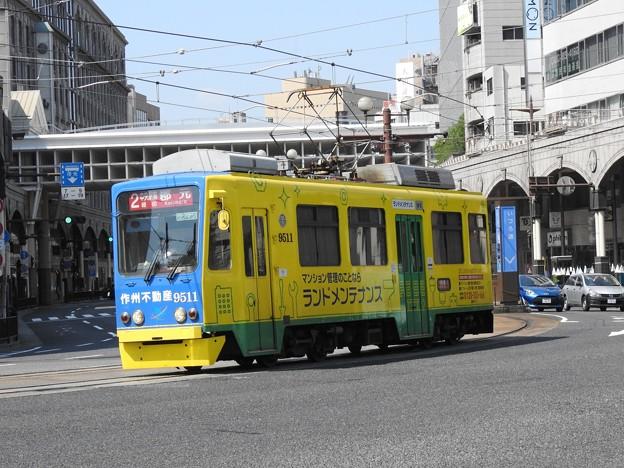 【鹿児島市電】9500形 9511号車