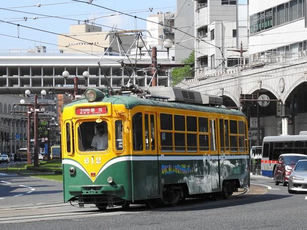 【鹿児島市電】600形 612号車