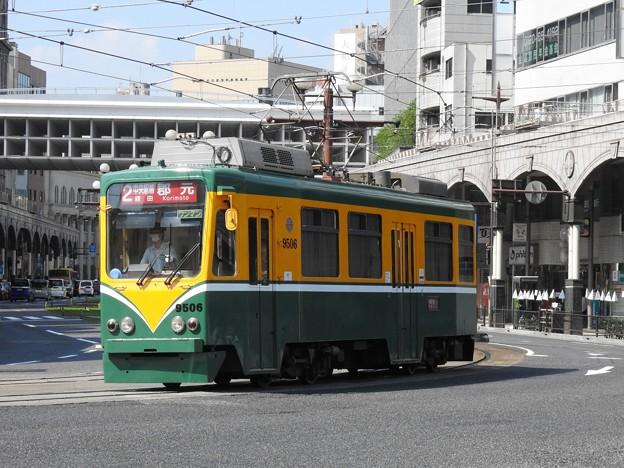 【鹿児島市電】9500形 9506号車