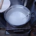 Photos: 豆腐作り