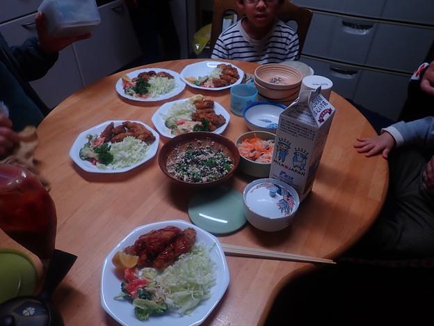3月27日夕食(家)