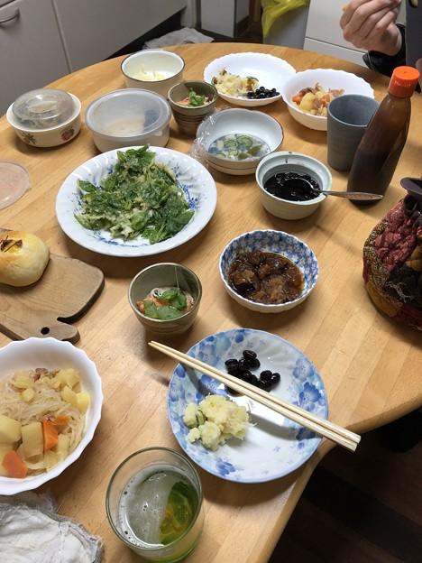 4月7日夕食(家)