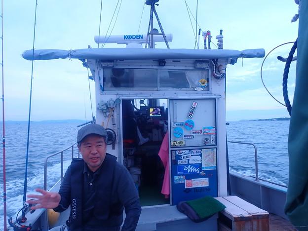 夜釣り (3)