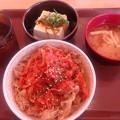 キムチ豚丼冷奴セット(すき家)
