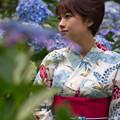 Photos: 初夏に浴衣