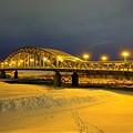Photos: 初冬の旭橋