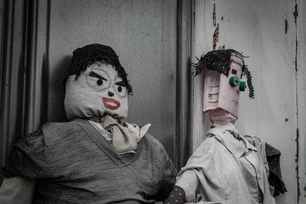 言いたいことがありそうな人形2@熊谷