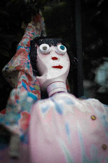売れない女芸人ぽい人形@熊谷