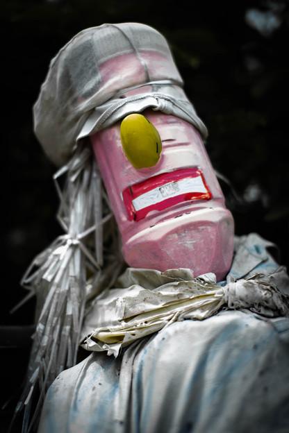 ソウルフルに歌いそうな人形@熊谷