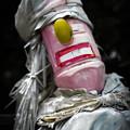 Photos: ソウルフルに歌いそうな人形@熊谷
