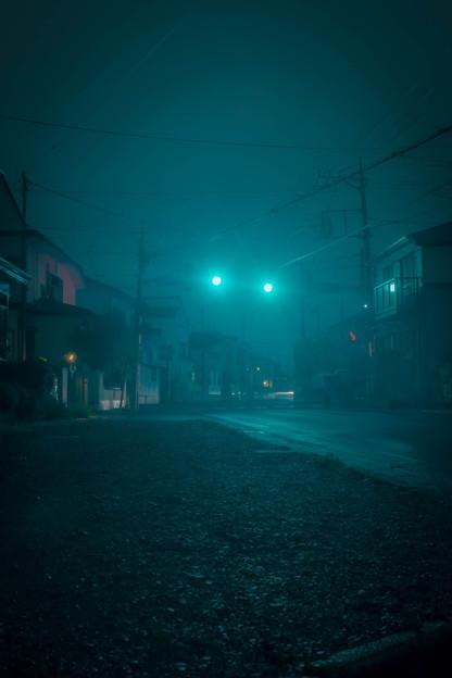 夜景の練習2@ウチの裏