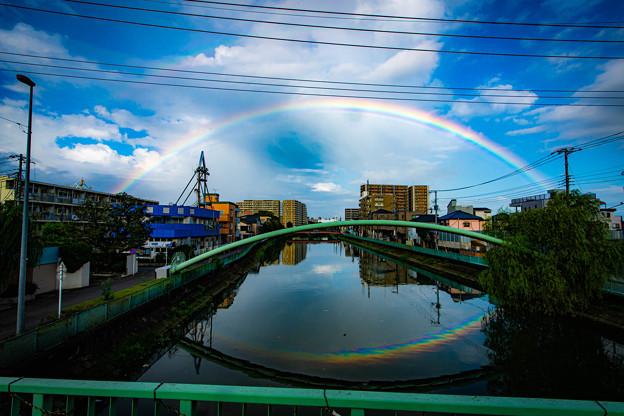 虹1@戸田橋の下