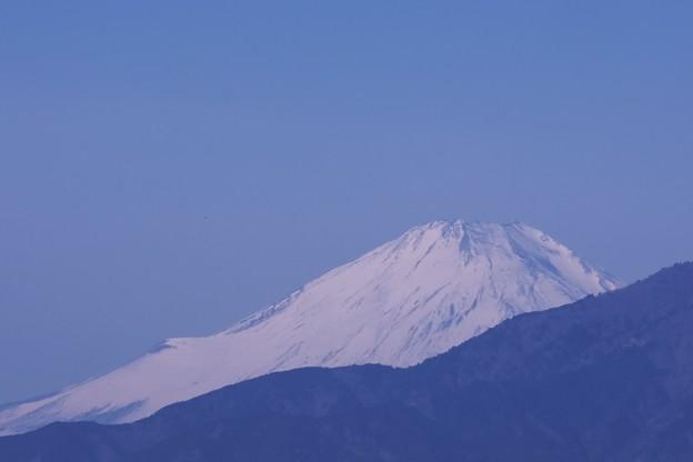 2021.02.28 駅前 富士山
