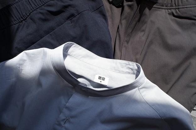 2021.03.24 UNIQLO 春ズボンとシャツ