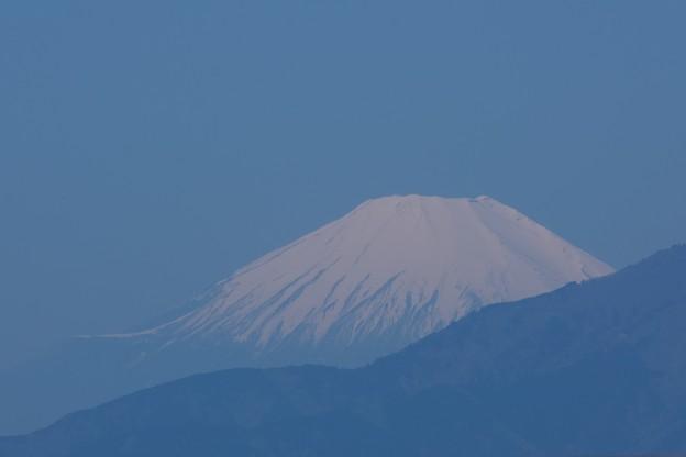 2021.04.21 駅前 富士山