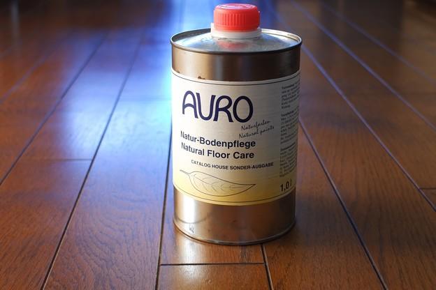 2021.10.17 キッチン AURO フローリングワックス