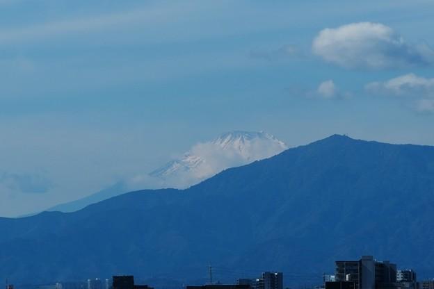 2021.10.24 駅前 富士山