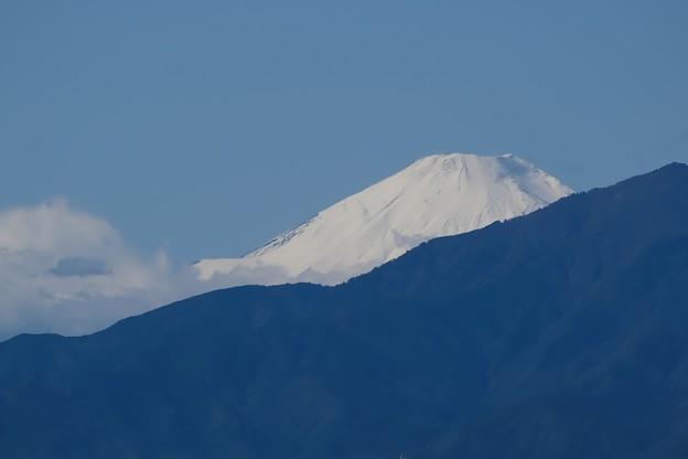 2021.10.26 駅前 富士山