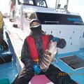 Photos: 友人が船内一のマハタをゲット