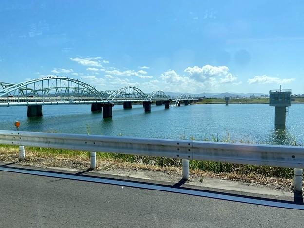 六十谷水管橋崩落 3