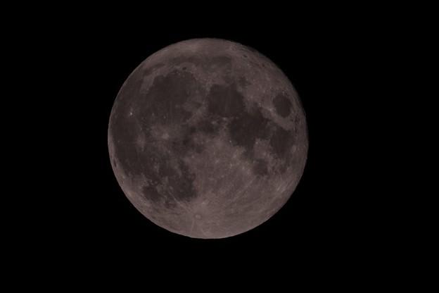 中秋の名月ー曇の合間20210921