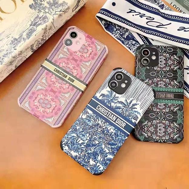 ハイブランド ディオール iphone 12 民族風 スマホケース セリース アイフォン12pro ケース おしゃれ
