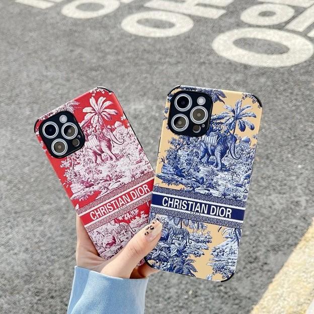ディオール ブランドiPhone 13カバー と シャネル galaxy s21ケース
