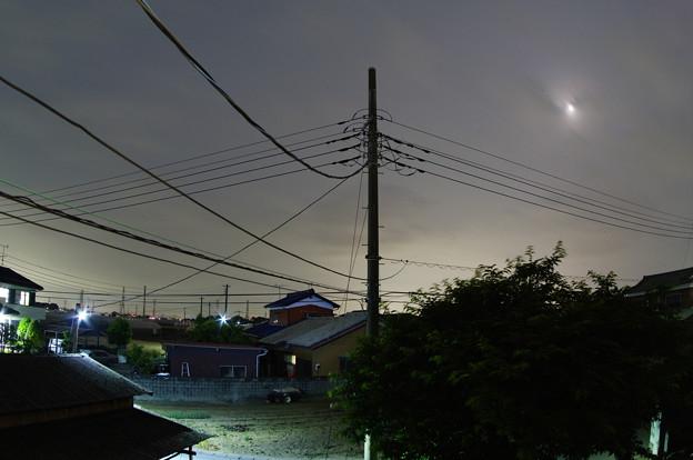 雲隠れのお月様!(;´д`)