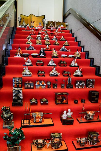 Photos: 階段雛