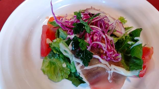 水信新鮮野菜を使ったサラダ仕立てオードブル