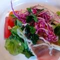 Photos: 水信新鮮野菜を使ったサラダ仕立てオードブル