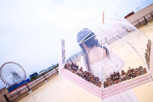 Photos: 雨の遊園地