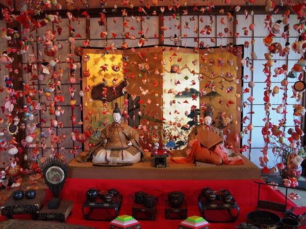 Photos: 雛のつるし飾り~お内裏様とお雛様
