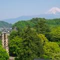 Photos: 韮山反射炉とお山と