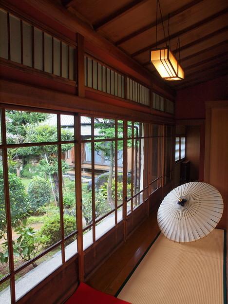 和傘のある空間