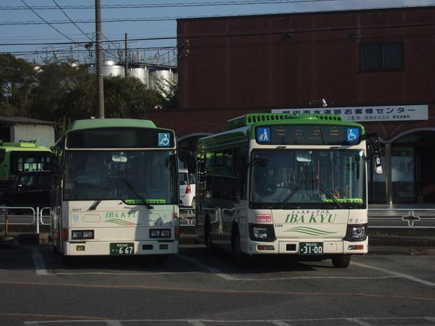 【茨城急行自動車】  3047号車_3100号車