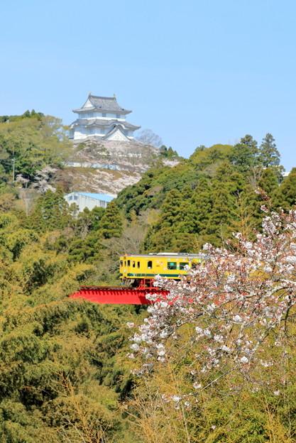 大多喜城といすみ鉄道
