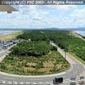 Photos: 富津岬の突端から振り返る