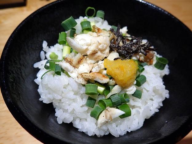 淡麗真鯛そばの雑炊セット@ウミのチカラ・台東区秋葉原