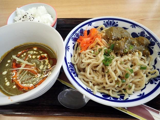 サグチキンつけ麺・辛さ普通・麺200g@アジアンコンフォート東京・北区東十条